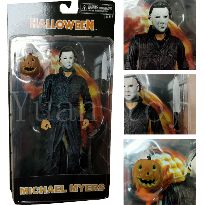 7inch NECA Ultimate Michael Myers Action Figure Halloween Model Toy Doll Gift