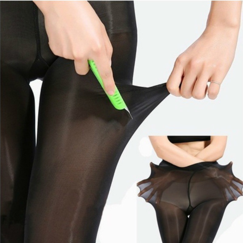 Plus Size Tights Large Size Pantyhose Women  Solid Color Breathable Sexy Super Elastic Big Nylon Pantyhose Female