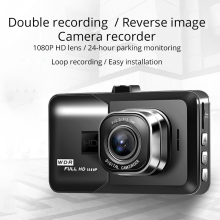 new q3 portable mini full hd 1080p car camcorder driving recorder with wide angle lens 6x wide digital zoom f2 2 recording UNCOM DVR Dash Cam driving recorder HD front and rear dual recording 1080P monitoring wide-angle car dvr reversing image