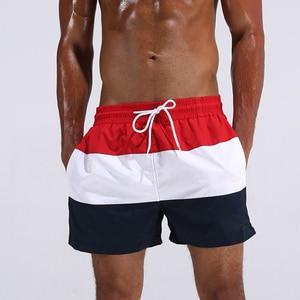 Swim shorts swimwear men quick-drying pants beach shorts swimming mens swim shorts swimwear summer beach surf shorts boardshort(China)