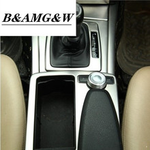 Car Styling interior Buttons Sequins Decoration Cover defend Trim Sticker Decals For Mercedes Benz C class W204 Auto Accessories