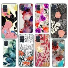 Line Decoration Painting Case for Samsung Galaxy A51 A71 5G M51 A21 A91 A01 A11 A31 A41 M11 M21 M31 Silicone Phone Coque waves ocean water case for samsung galaxy a51 a71 m31 a41 a31 a11 a01 m51 m21 m11 m40 black soft phone cover fundas