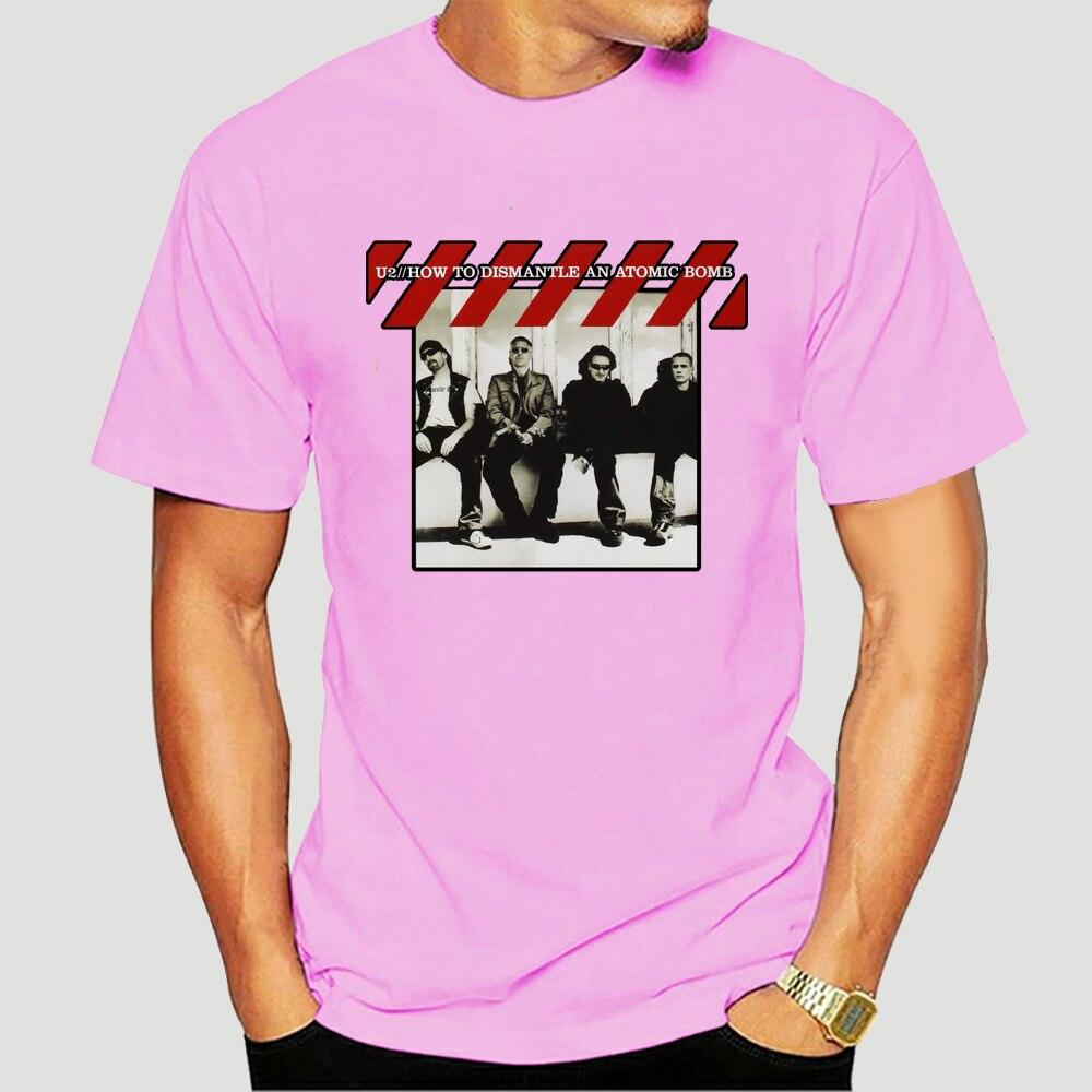Rock band U2 joshua tree t shirt Alternative Rock short sleeve t-shirt moon and star design tee shirt 6106X