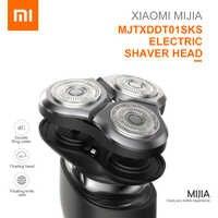 Mijia MJTXDDT01SKS elektryczna głowica golarki wodoodporny podwójny pierścień Cutter podwójne ostrze higiena osobistej