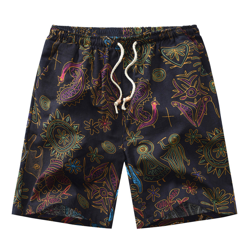 2019 New Products Fashion Large Size Men's Trousers Printed Shorts Men's Trousers Shorts