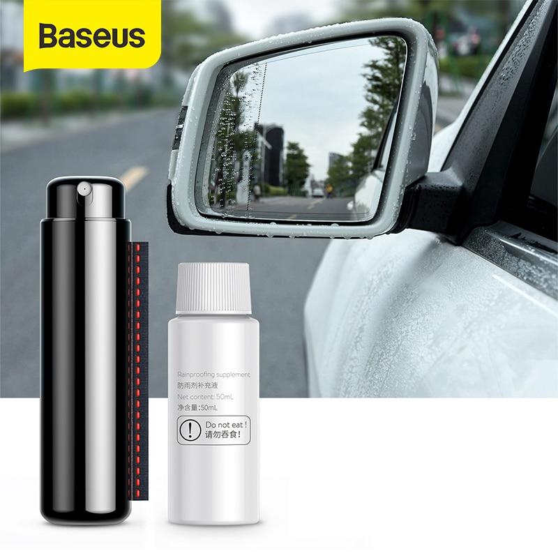 Baseus 50ml Anti-fog Agent Waterproof Rainproof Anit-fog Spray Car Window Glass Bathroom Cleaner Car Cleaning Car Accessorie