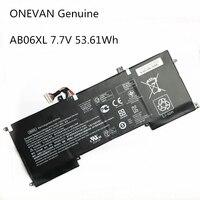 ONEVAN Genuine 53.16Wh AB06XL Battery for HP ENVY 13 AD023TU AB06XL 921408 2C1 921438 855 TPN I128 HSTNN DB8C TPNI128|Laptop Batteries|   -