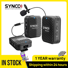SYNCO G1 G1A1 G1A2  Wireless Lavalier Microphone System  for Smartphone  Laptop  DSLR  Tablet  Camcorder Recorder pk  comica