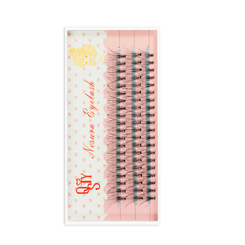 1 Trays Natural Long Black Individual False Eyelashes Eye Lash Extension Makeup Tool 60 Knots 6-15MM Available