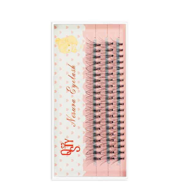 1 Trays Natural Long Black Individual False Eyelashes Eye Lash Extension Makeup Tool 60 Knots 6-15MM Available