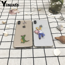 Yinuoda Transparent Soft TPU Phone Case For iPhone Xs Max Xs Xr 8 7 6 6S Plus 5 5S SE Silicone Back Cover Case For iPhone Xs Max цена