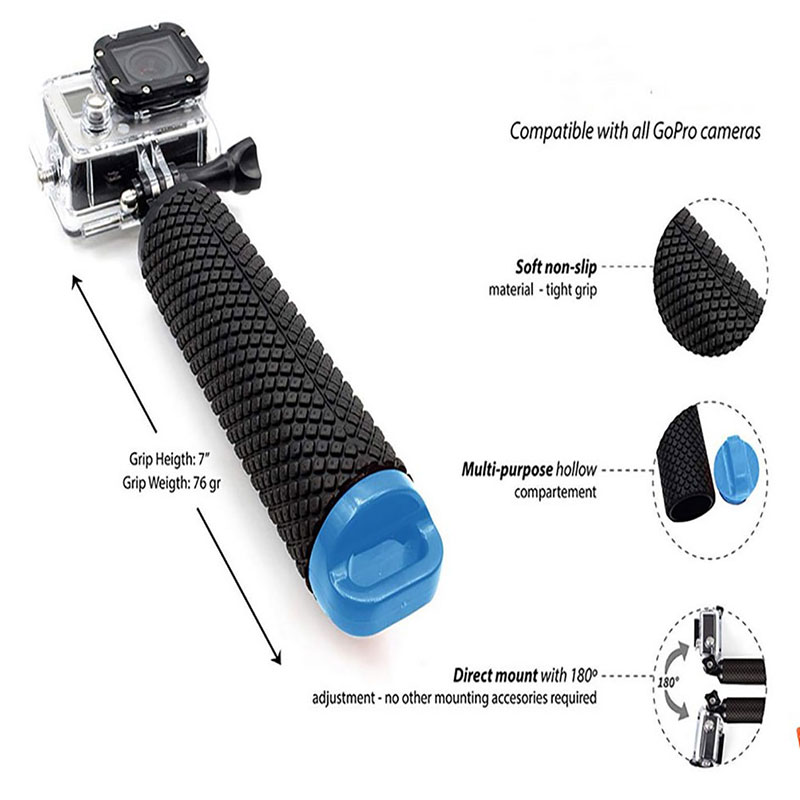 Water Floating Hand Grip Floating Handle Mount Accessories For Action Camera-5