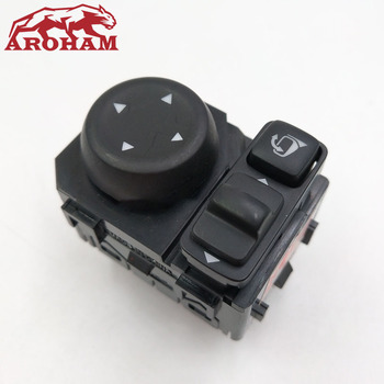 Interrupteur de commande de rétroviseur rétroviseur bouton de commutation pliant pour Nissan Qashqai x-trail Sylphy TIIDA TEANA LIVINA 2013-2018