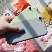 Мягкий чехол для телефона чехлы ярких цветов iphone xs 6 6s
