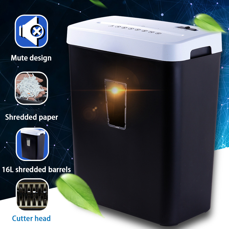 New Shredder Cs508 Office And Household Documents Smashed Silent Confidential 16 Litre Small Electric Shredder Package