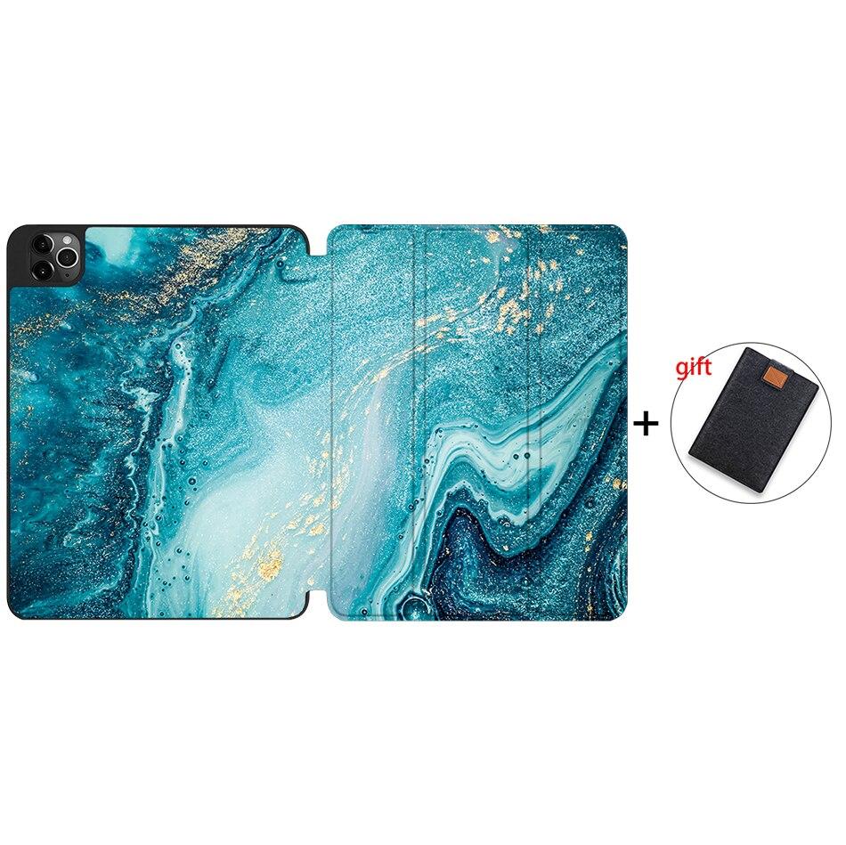 IPTPU06 Yellow MTT 2020 Tablet Case For iPad Pro 12 9 4th Gen A2229 A2233 Soft TPU PU