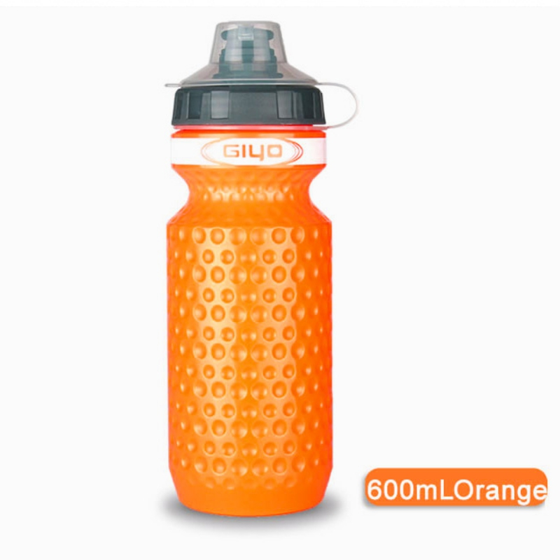 Купить с кэшбэком 600ml Portable Outdoor Leak-proof Athletic Sports Squeeze Water Bottle Cycling Bicycle Water Kettle Reusable Drinking Cup