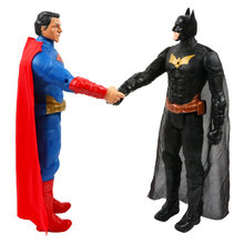 "12""/30cm Marvel Avengers Venom Batman Flash Superman Spiderman Thanos Hulk Iron Man Thor Wolverine Action Figure Toys Kid Gifts"