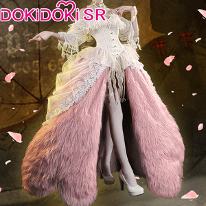 PRE-SALE DokiDoki-SR Game Identity V 2nd anniversary Mrs. Red Cosplay Costume Red Lady Costume Women Dress Cosplay Game