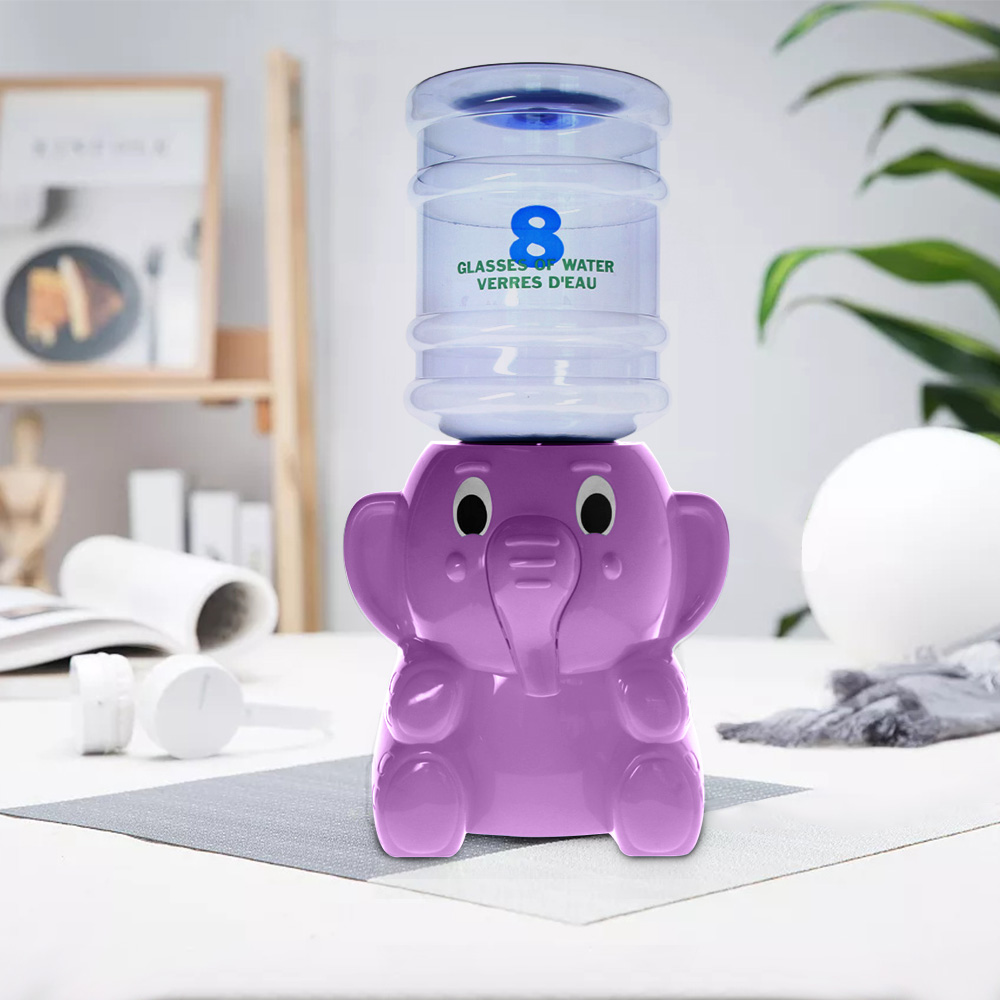 2.5 Liters Capacity For One Day Elephant Mini Water Dispenser 8 Glasses Water Verres D'eau Kid Room Animal Desktop Decoration