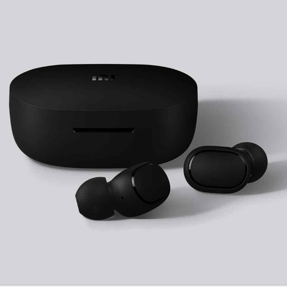Oryginalny Xiao mi mi czerwony mi AirDots TWS bezprzewodowe słuchawki Bluetooth Stereo Bluetooth 5.0 mi ni zestaw słuchawkowy z mikrofonem słuchawki douszne