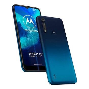 Перейти на Алиэкспресс и купить Motorola Moto G8 Power Lite, объемом памяти 4 Гб/64 ГБ синий (Королевский синий) Dual SIM XT2055-1