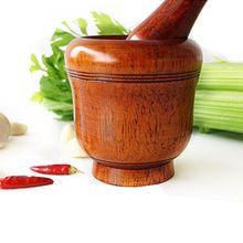 Деревянная ступка и пестик набор специй дробилка, пресс, пюре специи, травы, чеснок, перец, гуакамол, орехи, фрукты, таблетки