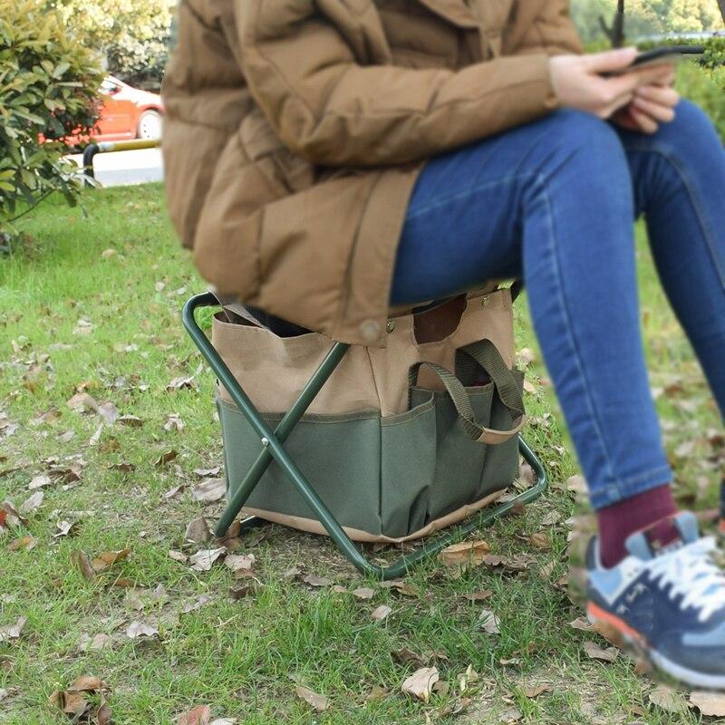 dupla utilização saco de armazenamento cadeira dobrável