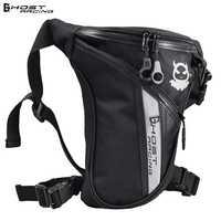 GHOST RACING Motorcycle Leg Bag Knight Waist moto travel Baggage motorbike Pocket Package Bag Moto Motocross Racing Side Bag