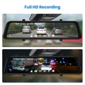 Image 5 - (11.11 code:1111VENTE6)Junsun Android 8.1 2GB + 32GB ADAS 10 en 1 DashCam voiture DVR miroir caméra 4G WIFI GPS Bluetooth Full HD 1080P enregistreur vidéo