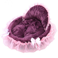 Cute Girl Dog Beds