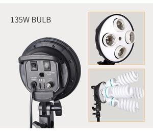Image 3 - Photo Studio 8 LED 20W Softbox Kit Photographic Lighting Kit Camera & Photo Accessories 2 Light Stand 2 Softbox for Camera Photo