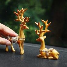 Мини олень Рождественское украшение украшения для дома предметы