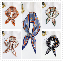 2020 new Scarves Pointed scarf female spring and summer wild wrist bag with variable hair band