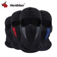 HEROBIKER バラクラバオートバイフェイスマスク夏バイクサイクリングスキー軍ヘルメット保護マスクモトマスク -