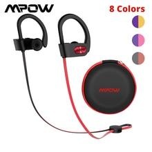 Mpow Flame auriculares, inalámbricos por Bluetooth Estéreo HiFi, Auriculares deportivos impermeables con micrófono/Estuche de transporte portátil