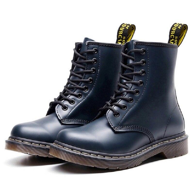 Ankle Boots Plush Warm Men Boots For Martin Boots Dr Motorcycle Shoes 2019 Winter Shoes Men Shoes Plus Size 48 Boots Men 39 S
