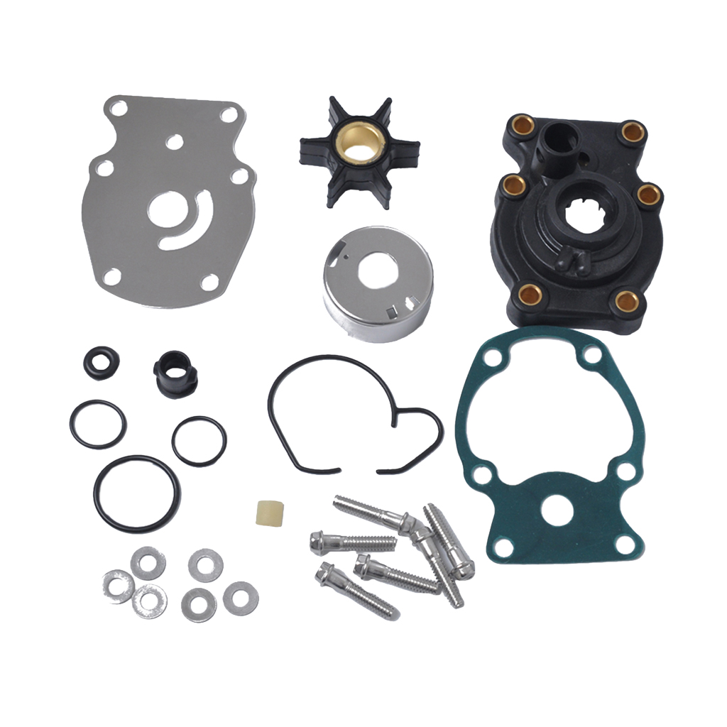 Water Pump Repair Rebuild Set Service Kit For Johnson Evinrude 20 25 30 35hp 4-Stroke Outboard Motor - Replaces Part 393630