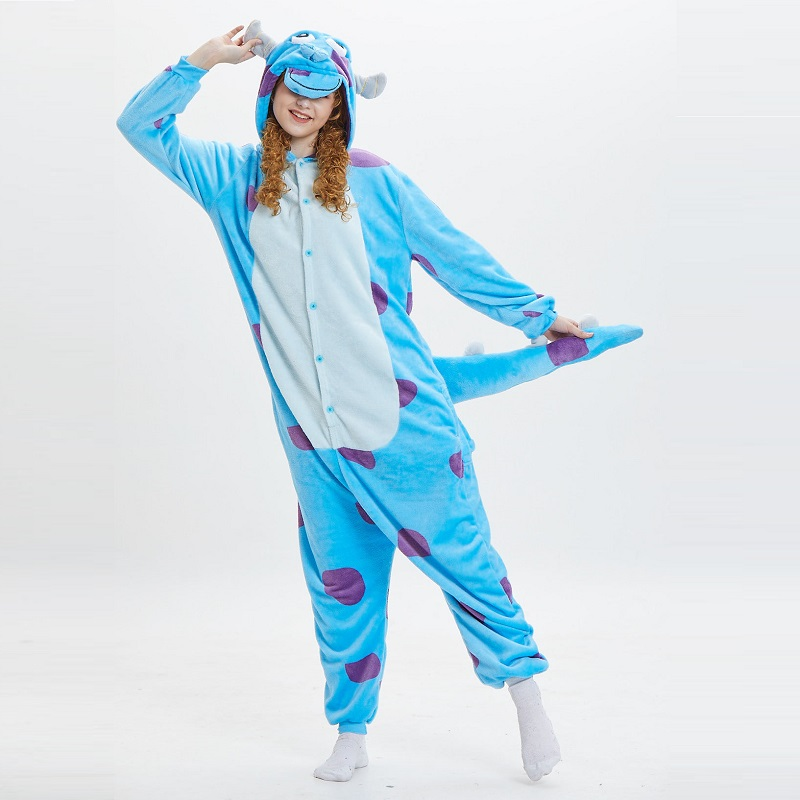 Monster-Inc-Sullivan-Onesies-For-Adults-monstruos-university-Kigurumi-Animal-Pajamas-Flannel-Warm-Long-Sleeve-Hooded (2)
