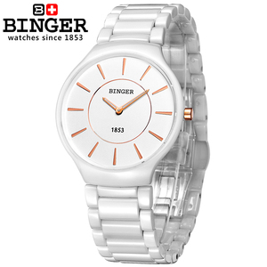 Image 5 - 스위스 럭셔리 브랜드 남성 손목 시계 Binger 공간 세라믹 쿼츠 남자 시계 연인 스타일 방수 시계 B8006B 5
