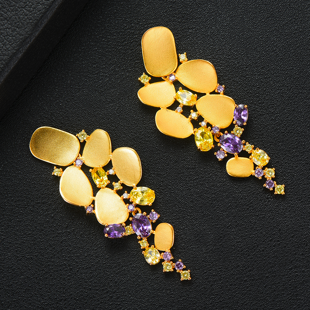 Hdb70657545344bd8ad47ad9223c4ca80l missvikki 2019 Fashion New Noble Luxury Bangle Earrings Ring Jewelry Set for Bridal Women Wedding Show Party Jewelry Set Hot