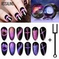 Магнитный Гель-лак ROSALIND, Магнитный Гель-лак 9D кошачий глаз для ногтей, набор УФ-светодиосветодиодный для маникюра, топ для ногтей, гель-лаки, ...