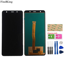 Incell LCD Display For Samsung Galaxy A7 2018 A750 A750F SM-A750F A750FN A750G Touch Screen Digitizer LCD Display Assembly Tools