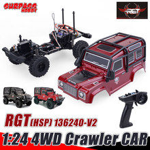 SURPASS HOBBY HSP RGT 136240 V2 1/24 RC Car RTR 4WD 15km/h Radio Control Crawler Car Off Road Vehicle Models Toys Gifts