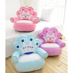 Детское кресло, детское кресло, чехлы для диванов, кресло, мультяшная корона, детское гнездо, мягкое сиденье, детское кресло