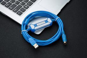 Image 5 - USB FBS 232P0 9F מתאים Fatek FBS FB1Z B1 סדרת PLC זהב מצופה ממשק תכנות כבל USB גרסה כדי RS232 מתאם