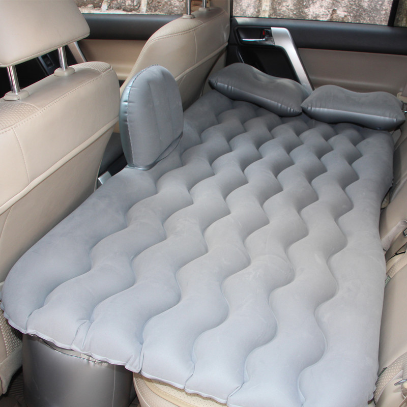 Travel Bed Inflatable Mattress Matelas Voiture Gonflable Protable Car Back Seat Cover Air Bed Inflatable Car Bed Air Mattres