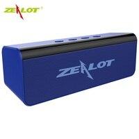 NEW Zealot S31 Bluetooth Speaker Portable Boombox 3D HIFI Stereo Wireless Speaker support TF card, USB Pen Drive