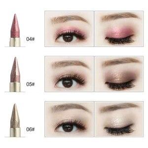 Двусторонняя Черная Подводка для глаз, 1 шт., 6 цветов, жидкая подводка для глаз, карандаш для глаз, легкая косметика