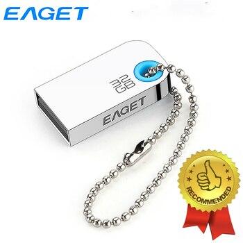 Eaget USB Flash Drive 32GB Super Mini Pendrive Waterproof Pen Drive Shockproof Memoria USB Flash Drives For Computer & Car Audio